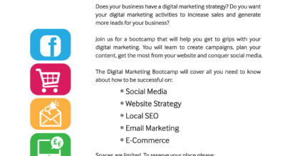 Newry BID - Digital Marketing Bootcamp