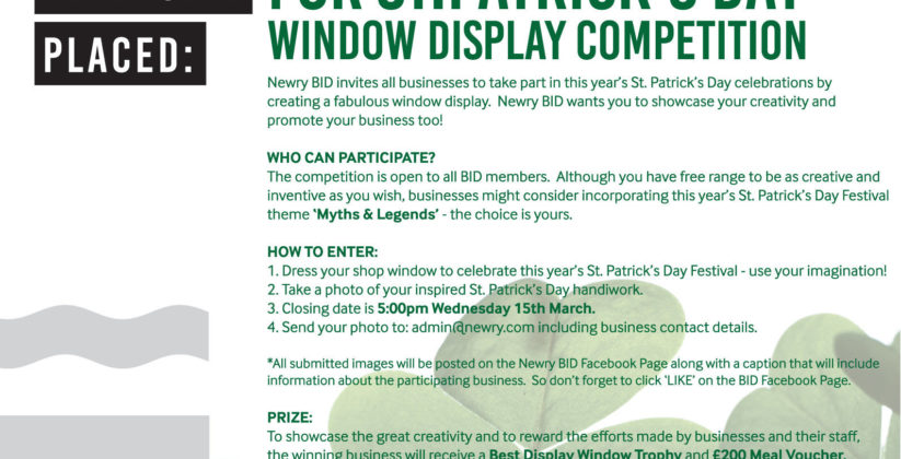 Fabulous window display competition