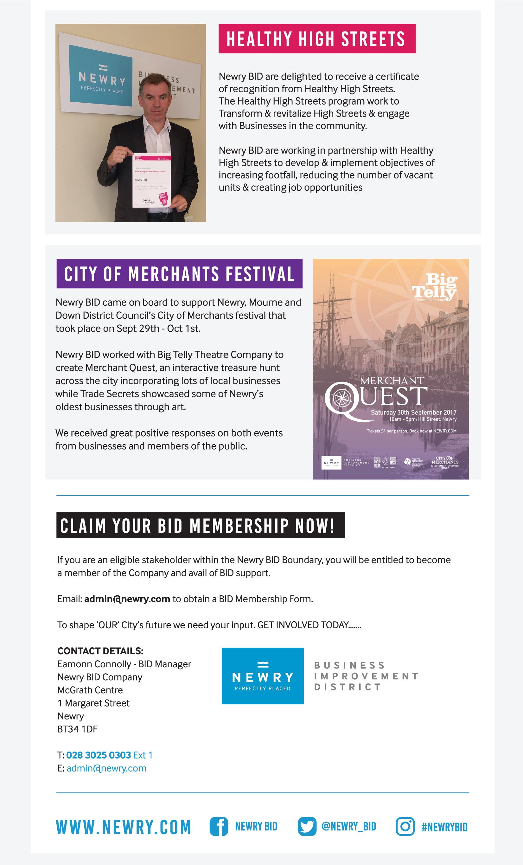 newsletter business plan