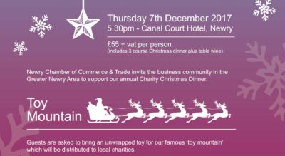 Book Your Tickets Now For The Charity Christmas Dinner