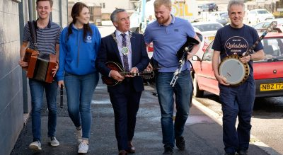 Newry city hosts a whole weekend of 'trad treats' at…