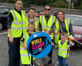 World Clean Up day on September