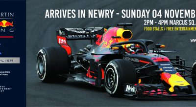 Aston Martin Red Bull Racing Arrives in Newry