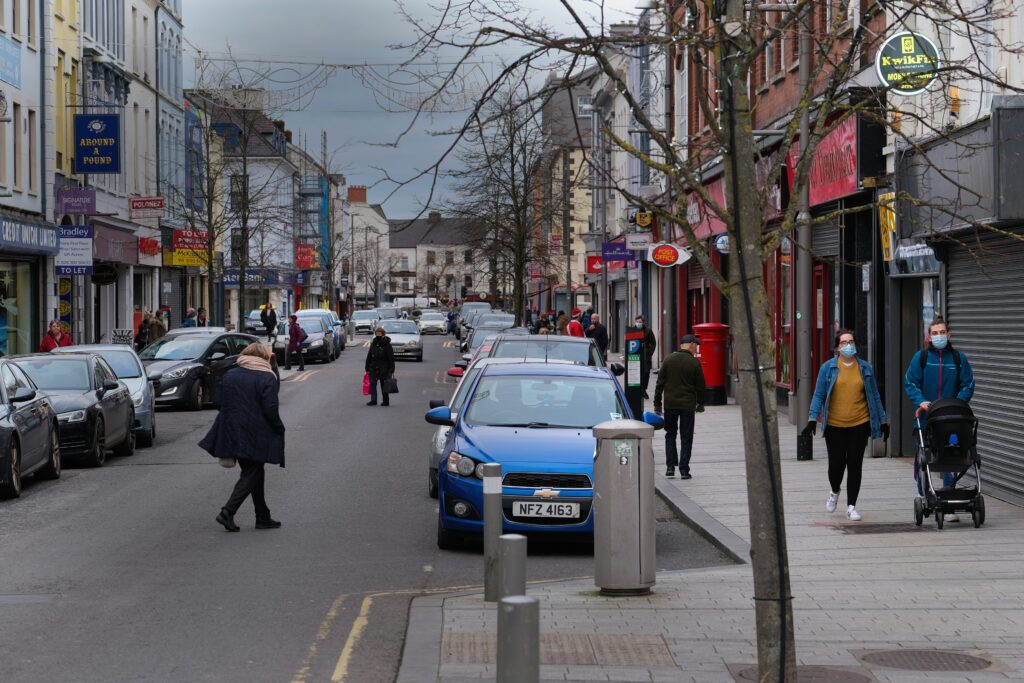 Hill Street in Newry. Photograph: Columba O'Hare/ Newry.ie