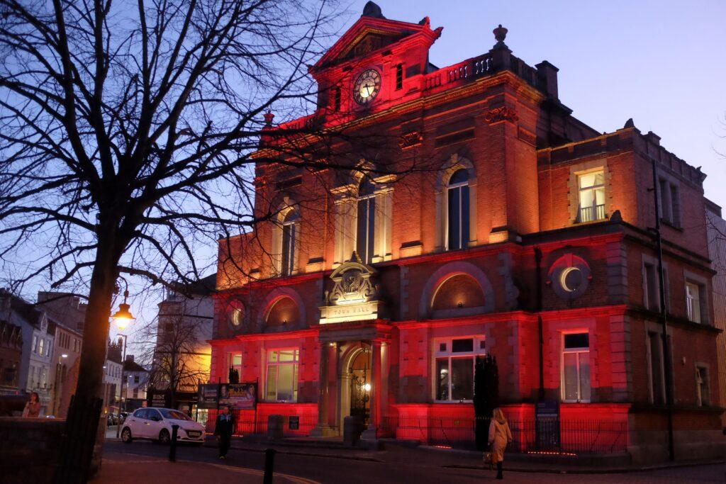 Newry Town Hall. Photograph: Columba O'Hare/ Newry.ie
